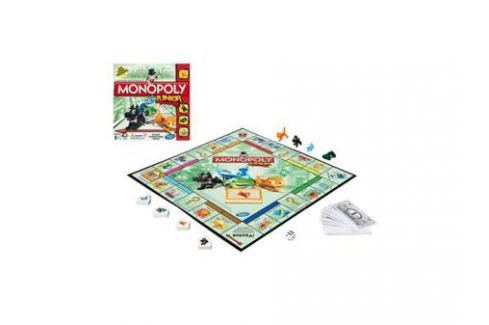 Настольная игра Hasbro Моя первая монополия A6984 Игры Hasbro и Mattel