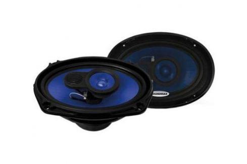 Автоакустика Soundmax SM-CSE693 коаксиальная 3-полосная 15-23см 110Вт-220Вт Автоакустика