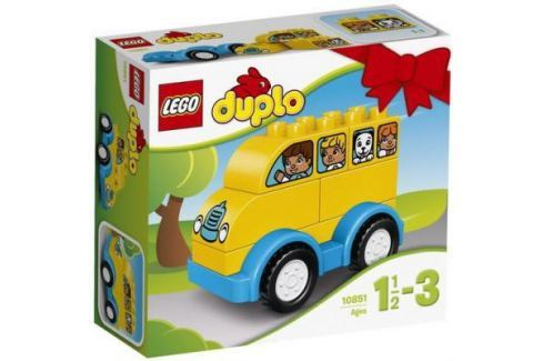Конструктор LEGO Мой первый автобус 6 элементов 10851 Конструкторы