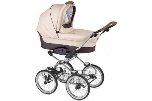 """Коляска для новорожденного Navington Caravel (колеса 14""""/цвет royal sand/EVA Wels) Коляски для новорожденных"""