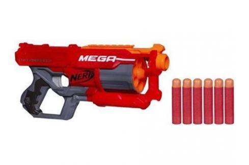 Бластер Hasbro Nerf Мега Циклон-шок красный A9353 Игрушечное оружие