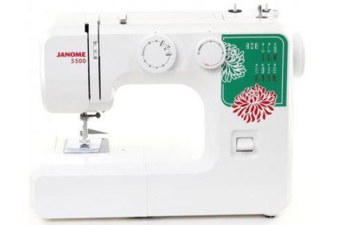 Швейная машина Janome 5500 белый Швейные машины