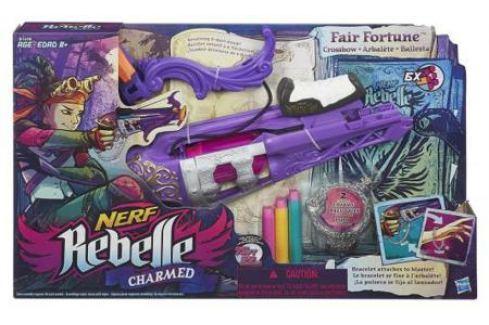 Арбалет Nerf Rebelle Чарм - Фортуна для девочки Игрушечное оружие