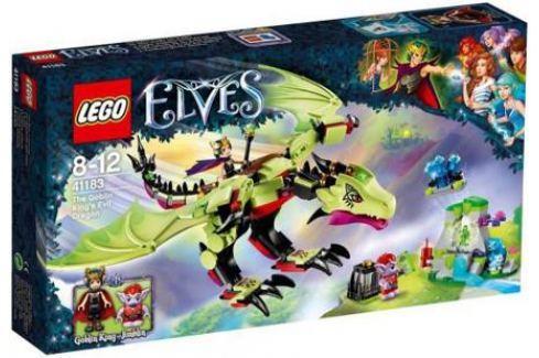 Конструктор LEGO Elves: Дракон Короля Гоблинов 339 элементов 41183 Конструкторы