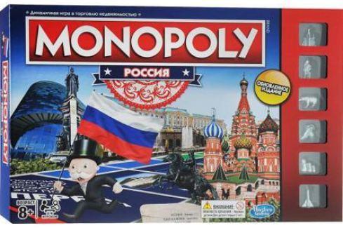 Настольная игра стратегическая HASBRO Монополия Россия (новая уникальная версия) B7512121 Игры Hasbro и Mattel