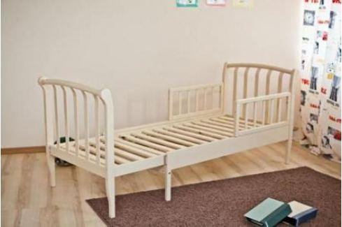 Кроватка-трансформер Красная Звезда Савелий (белый) Кроватки-трансформеры