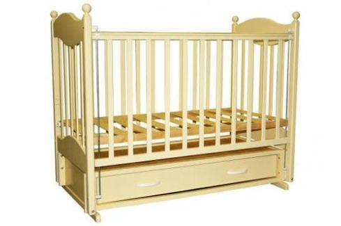 Кроватка с маятником Ведрус Эля (слоновая кость) Кроватки с маятником