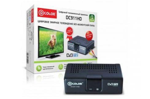Тюнер цифровой DVB-T2 D-Color DC911HD ECO TV-тюнеры