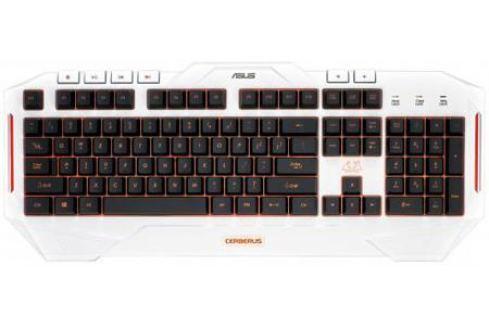 Клавиатура проводная ASUS Cerberus Arctic USB белый 90YH00V1-B2RA00 Игровые клавиатуры и комплекты
