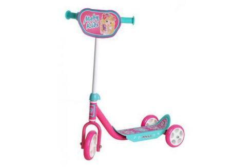 Самокат Moby Kids Мечта розовый 64637 Трехколесные самокаты для детей