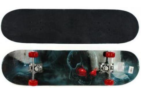 Скейтборд Shantou Gepai Darkness 79х20 см, PVC колеса Скейтборды