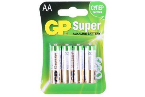 Батарейки GP Super GP15A-2CR4 AA 4 шт Батарейки и аккумуляторы