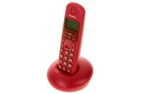 Радиотелефон DECT Panasonic KX-TGB210RUR красный DECT-телефоны
