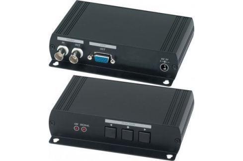 Конвертер SC&T AD001H2 для аналогового видеосигнала в VGA-сигнал Оборудование для передачи сигнала