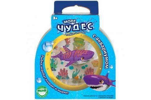 Интерактивная игрушка Redwood Акула-Акробат Тайгер с Аквариумом от 3 лет фиолетовый 159025 Интерактивные игрушки