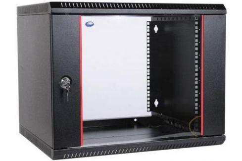 Шкаф настенный 9U ЦМО ШРН-Э-9.500-9005 600x520mm дверь стекло черный Серверные шкафы