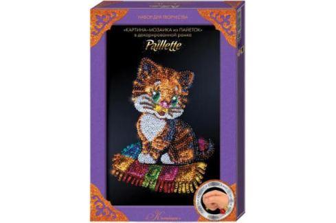 Набор для творчества ДАНКО-ТОЙС мозаика из пайеток «Котёнок» Пм-01-13 от 7 лет Ассорти наборов для творчества