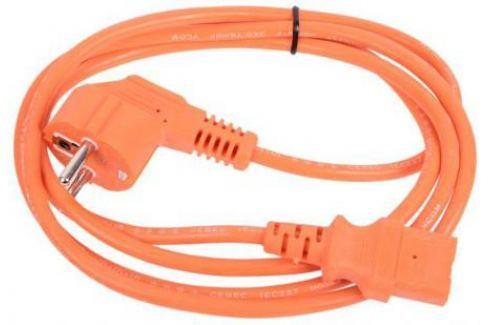 Кабель питания 1.8м VCOM Telecom CE021-CU0.75-1.8M-O оранжевый Кабели питания для системного блока и ИБП