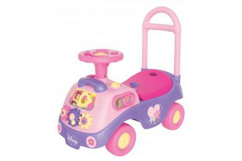 "Каталка-пушкар Kiddieland ""Принцесса"" с шестеренками розовый от 1 года пластик Каталки-транспорт"