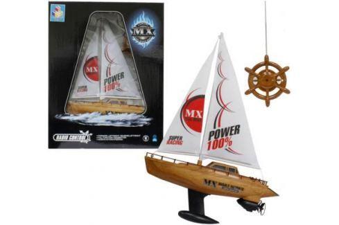 Радиоуправляемая парусная лодка Тилибом Super Racing Т58537 пластик от 6 лет разноцветный Радиоуправляемые игрушки