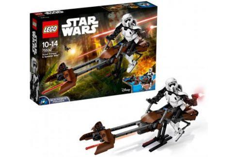 Конструктор Lego Star Wars: Штурмовик-разведчик на спидере™ 452 элемента 75532 Конструкторы