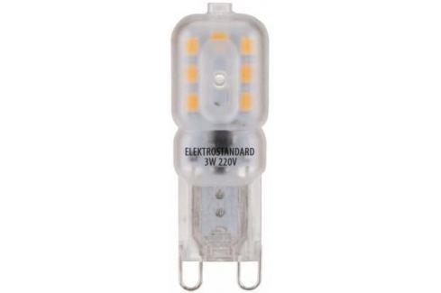 Лампа светодиодная G9 3W 3300K колба матовая 4690389085642 Лампы светодиодные
