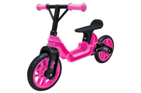 """Беговел RT Hobby bike Magestic 10"""" розово-черный Беговелы (велобалансиры) для детей"""