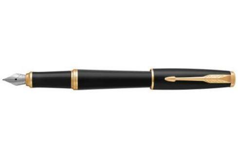 Перьевая ручка Parker Urban Core F309 Muted Black GT синий 1931593 перо F Ручка перьевая
