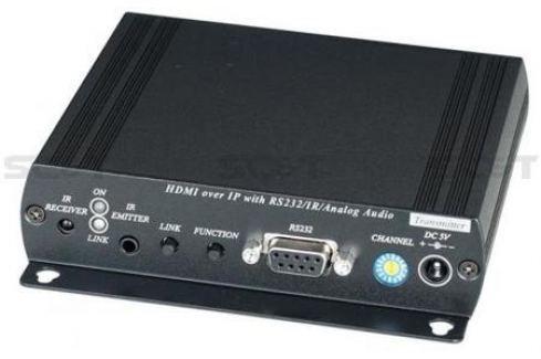 Передатчик SC&T HE05BT HDMI + Analog Audio до 150м Оборудование для передачи сигнала
