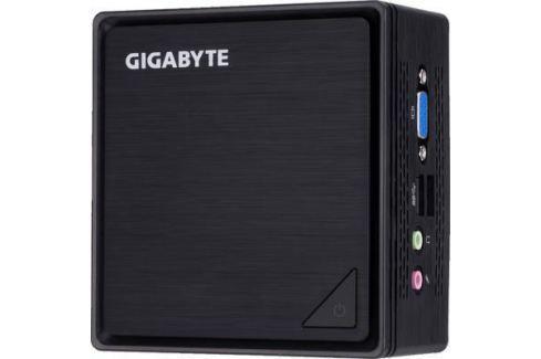 Неттоп GigaByte BRIX Intel Celeron-N3350 Intel HD Graphics 500 Без ОС черный GB-BPCE-3350C Неттопы