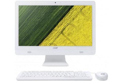"Моноблок 20"" Acer Aspire C20-720 1600 x 900 Intel Celeron-J3060 4Gb 1 Tb Intel HD Graphics 400 DOS белый DQ.B6XER.008 DQ.B6XER.008 Моноблоки"