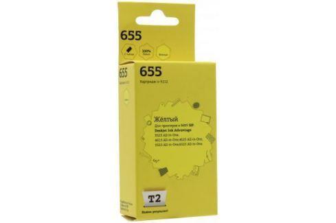 Картридж T2 № 655 для HP DeskJet IA 3525/4615/5525/6525 желтый 600стр IC-H112 Картриджи