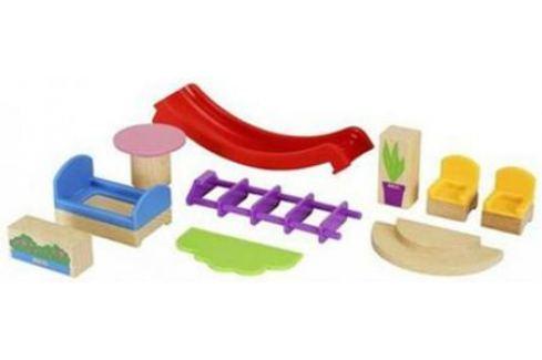 Игровой набор Brio мебели и аксесс-в для виллы,10эл.,26х5х10см,кор. Детская железная дорога
