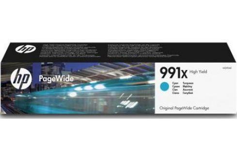 Картридж HP 991X M0J90AE для HP PageWide Pro 772dn 777z 750dw голубой Картриджи