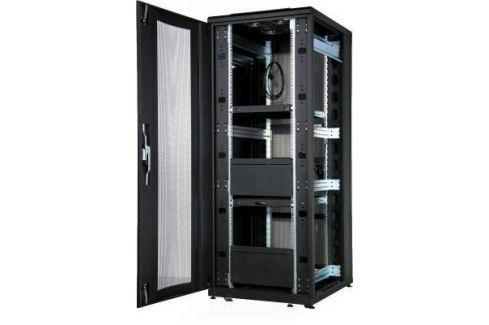 """Шкаф напольный 19"""" 26U Estap CLD70626U6010BF1R1 600x1000mm передняя дверь одностворчатая перфорированная задняя дверь двустворчатая перфорированная черный Серверные шкафы"""