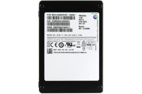 """Жесткий диск 2.5"""" SSD 480Gb Samsung PM1633A SAS MZILS480HEGR-00007 Серверные жесткие диски"""