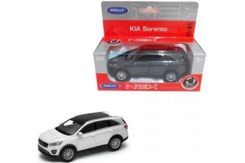 Автомобиль Welly Kia Sorento 1:34-39 цвет в ассортименте Детские модели машинок