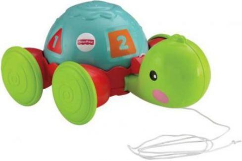Развивающая игрушка Fisher Price Обучающая черепашка на колесиках Y8652 Развивающие центры для малышей