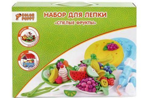"""Набор для лепки Color Puppy """"Спелые фрукты"""", тесто 240 г, аксессуары 631026 Творческие наборы"""