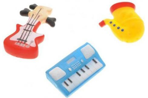 Набор игрушек Жирафики Маленький оркестр 681102 68855 Игрушки для купания
