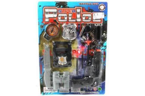 Набор Shantou Gepai Полиция черный серый 581-6 Игрушечное оружие