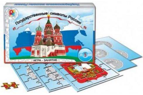 Развивающая игра Радуга Государственные символы С-826 Обучающие материалы для детей