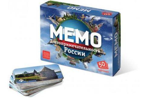 Настольная игра Бэмби развивающая «Мемо» Достопримечательности России 7202 Развивающие настольные игры