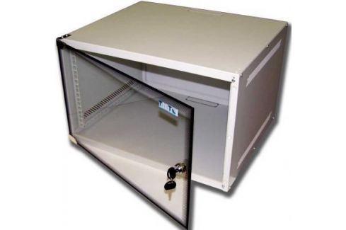 Шкаф настенный 6U Lanmaster TWT-CBWL-6U-6x4 520x450mm стеклянная дверь Серверные шкафы