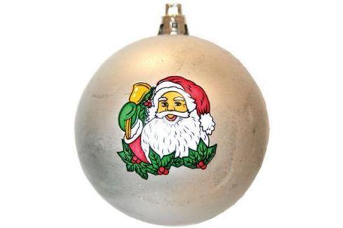 Набор шаров Winter Wings Дед Мороз, с ручной росписью в ассортименте 6 см 6 шт N06469 Елочные украшения
