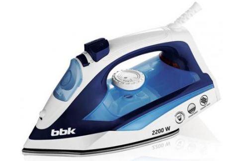 Утюг BBK ISE-2201 2200Вт белый синий Утюги