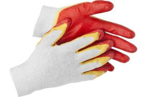 """Перчатки STAYER """"MASTER"""" трикотажные, двойная обливная ладонь из латекса, х/б, 13 класс, S-M [11409-S] Средства индивидуальной защиты"""