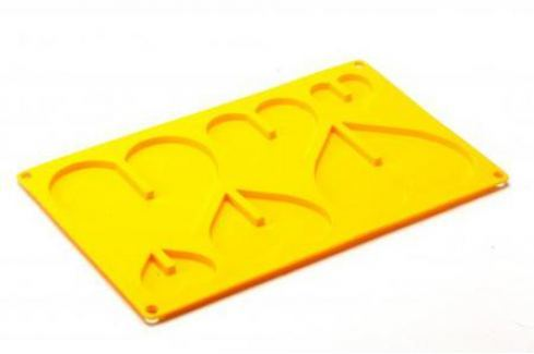 Форма силиконовая 3D «СЕРДЦЕ» TK 0159 Аксессуары для кухни